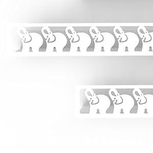 White floating bookshelves Wallniture bookshelf Cd shelves Dvd wall shelf