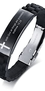 bibe verse bracelet for men