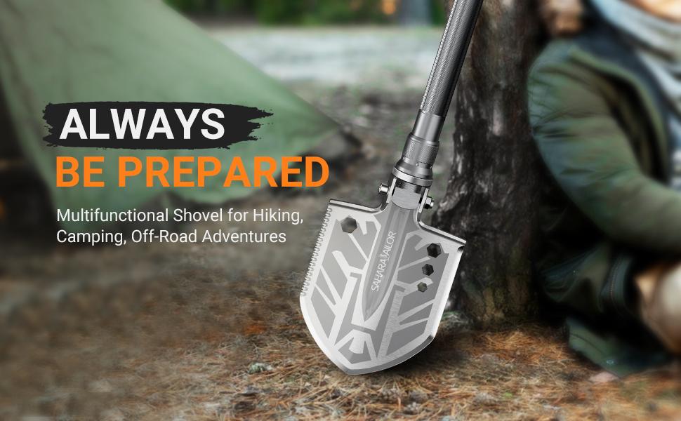 camping shovel  camping gear