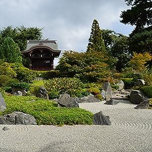 The Zen Garden by Island Falls Home Japan Japanese Zen Garden Rock Garden Asian Pagoda