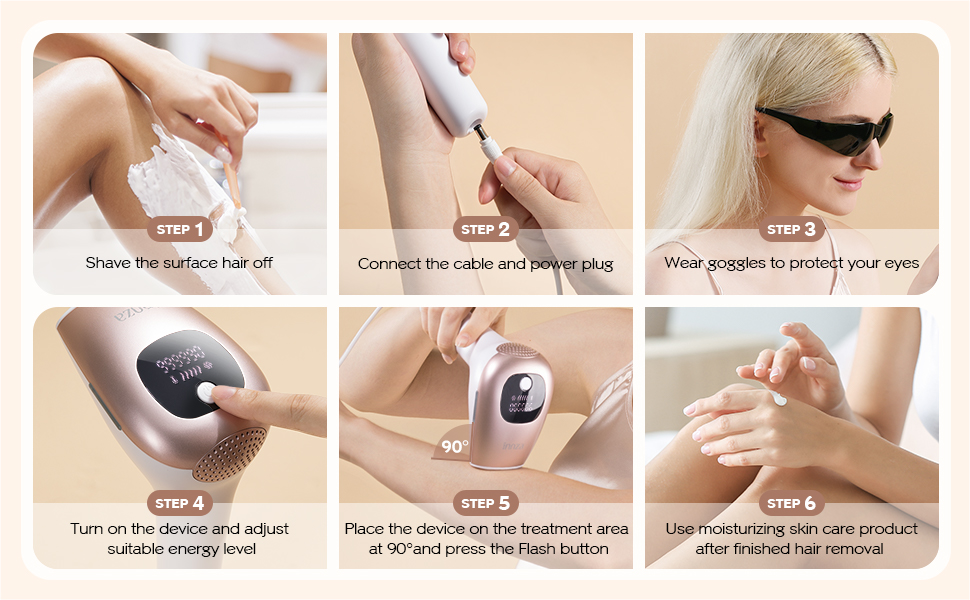 hair removal device for women