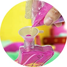 Creative Kids DIY Super Sand Art Kit for Kids Children's Rainbow Sand Craft Activity Set Playset