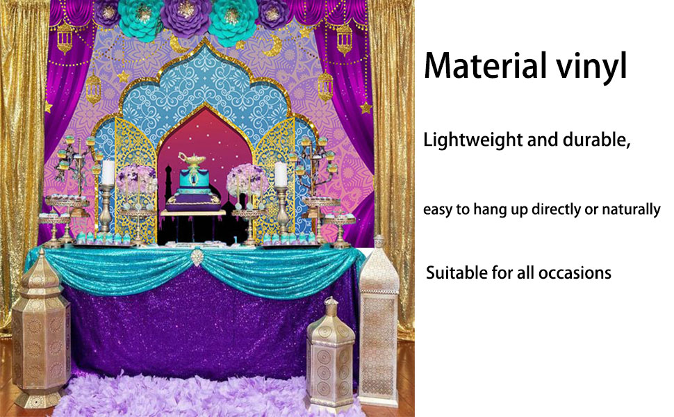 9x16Ft Vinyl Moroccan Backdrop for Photography,Typical Moroccan Door to Old Medina Mediterranean Historical Arch Entrance Photo Background Newborn Baby Photoshoot Portrait Studio Props Birthday Party