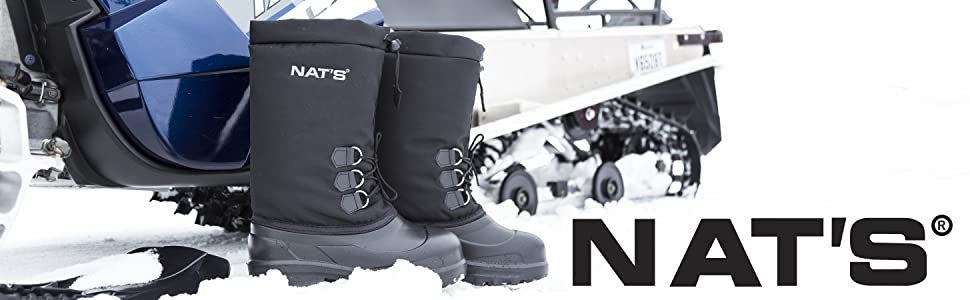 Ultra light snowmobile boots with liners