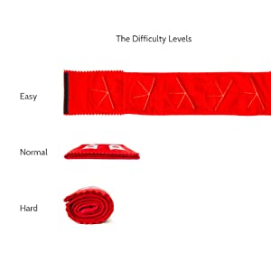 Dog toys with increased difficulty