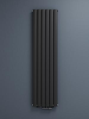 Mai /& Mai Heizk/örper flach 160x30cm in Anthrazit Paneelheizk/örper Vertikal zweilagig aus Stahl