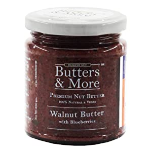 butters and more walnut butter chocolate blueberry coffee dark vegan keto dairy free spread