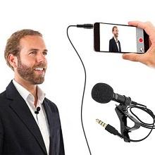 mic lapel condenser omnidirectional youtube singing