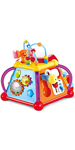 Musical Activity Cube Play