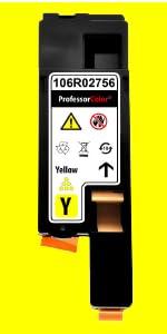 Professor Color Yellow Toner Cartridge