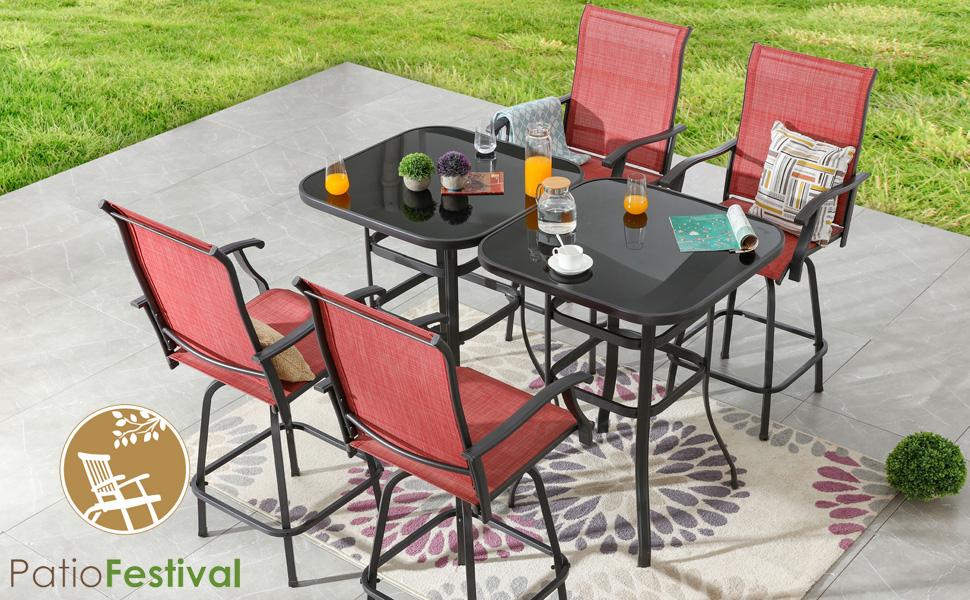 patio bar set