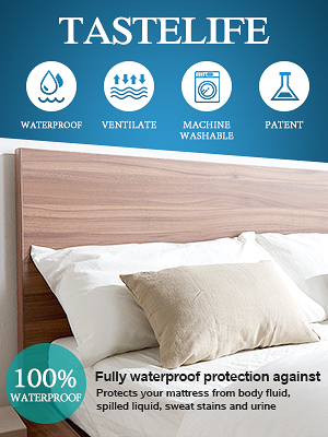 Cover Mattress appearing Single Bed Waterproof Health salvapipi Washable