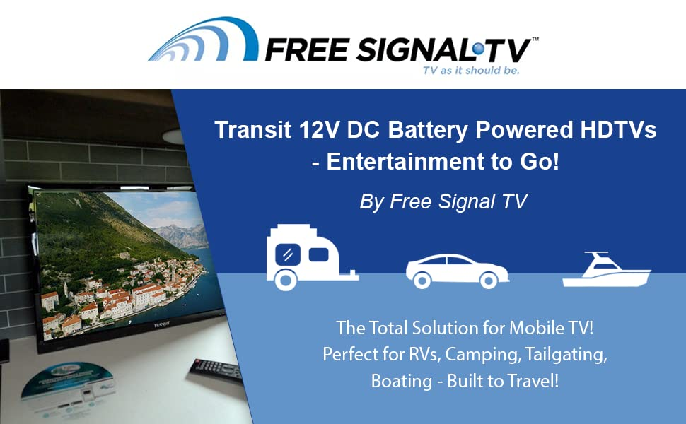 tv, entertainment, high resolution, on-the-go  Free Signal TV Transit 32″ 12 Volt DC Powered LED Flat Screen HDTV for RV Camper and Mobile Use 92ce2b91 df64 4698 9599 7ee63bccf68c