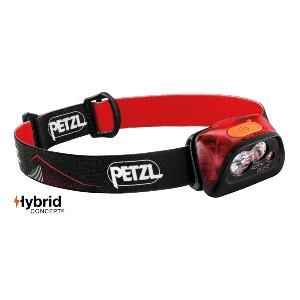Petzl actik Core pour Homme Femme Rouge Running Sports Headlamp Head Torch