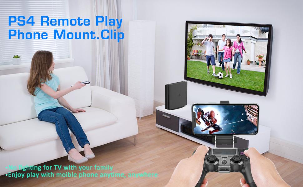 PS4 controller clip