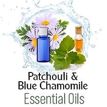 Patchouli & Blue Chamomile essential oils