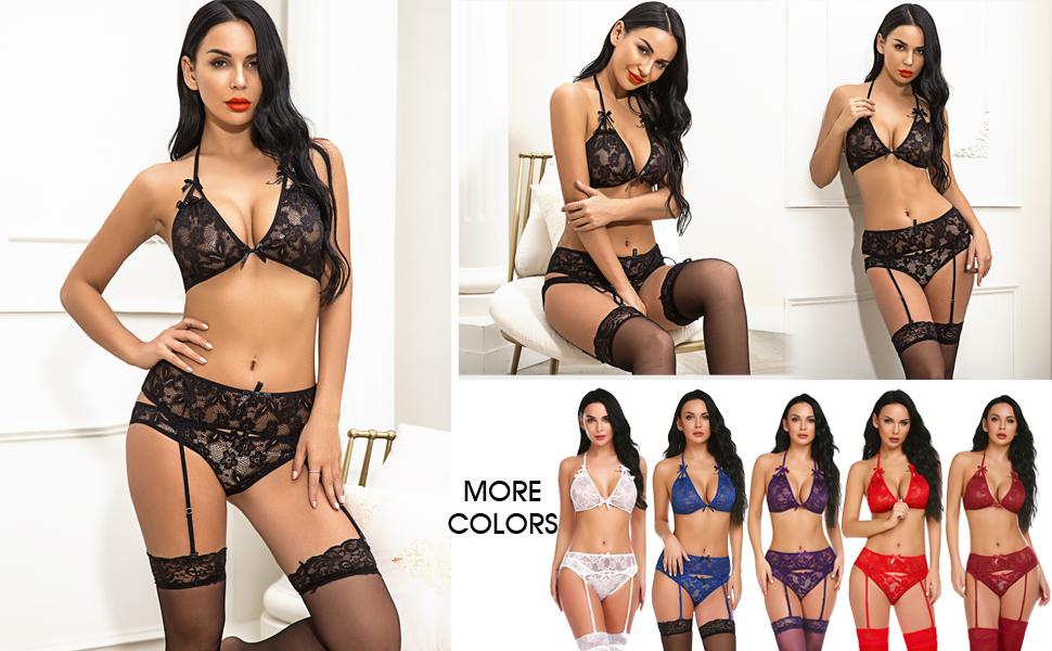 women lingerie sexy sets for sex lace lingerie for women garter lace lingerie for Valentines day