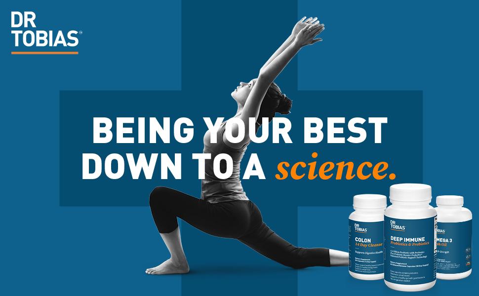 dr tobias, deep immune, probiotic, probiotics, prebiotics, supplements, gut health,