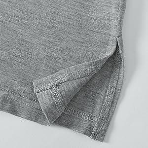 summer short sleeves v neck sleep tshirt for women