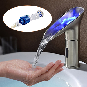 hands free sensor faucet valve included