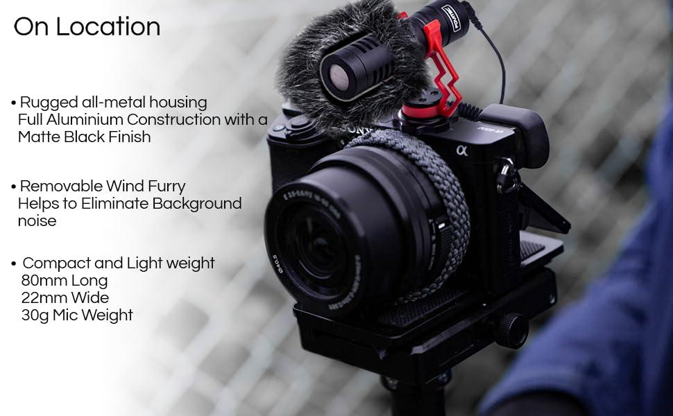 Shotgun Mic video mic youtube recording