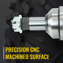 sixity xta axles feature precision cnc machined surface
