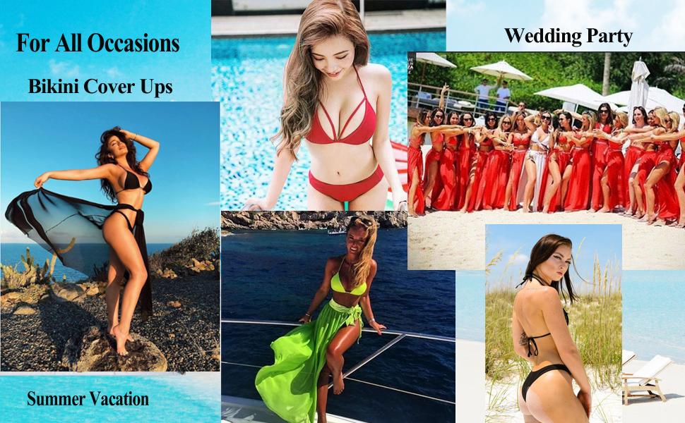 women swimsuit cover up sets bathingsuit cover up bottoms three piece mesh swim suit bikini 3 sets