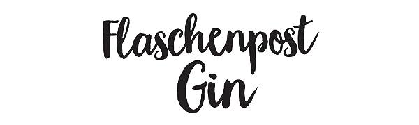 Flaschenpost Gin