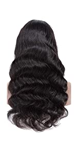 body wave none lace front wigs