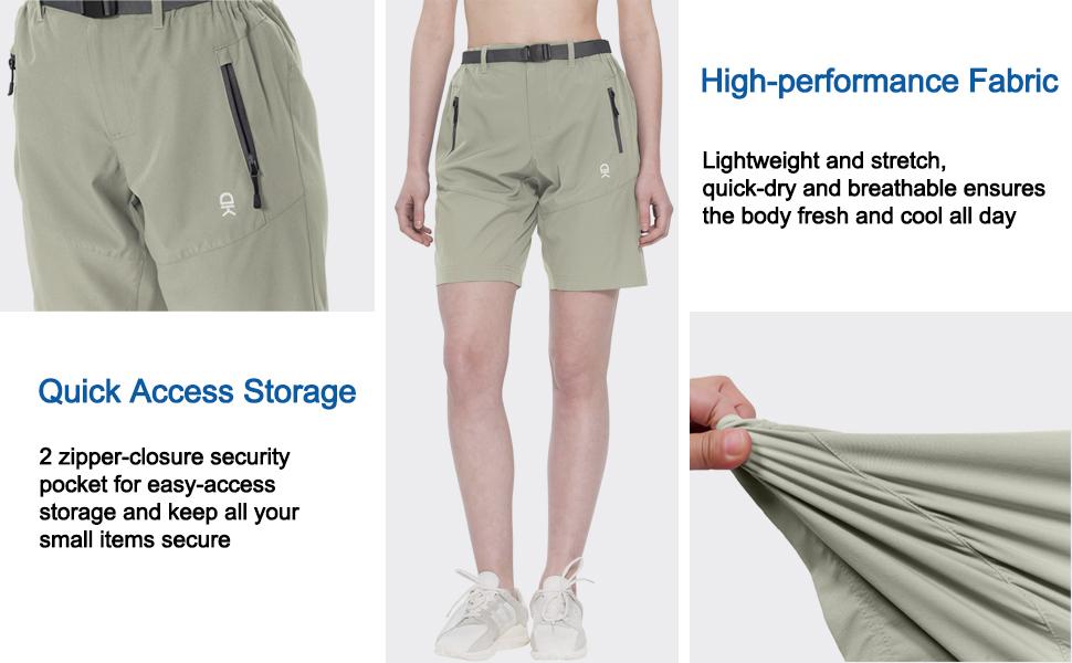 womens quick dry hiking shorts