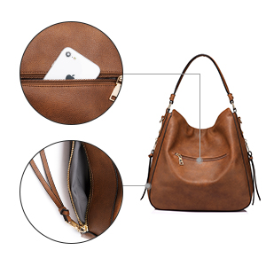 borsetta donna borsa cuoio borsa a mano spalla borsa pelle marrone