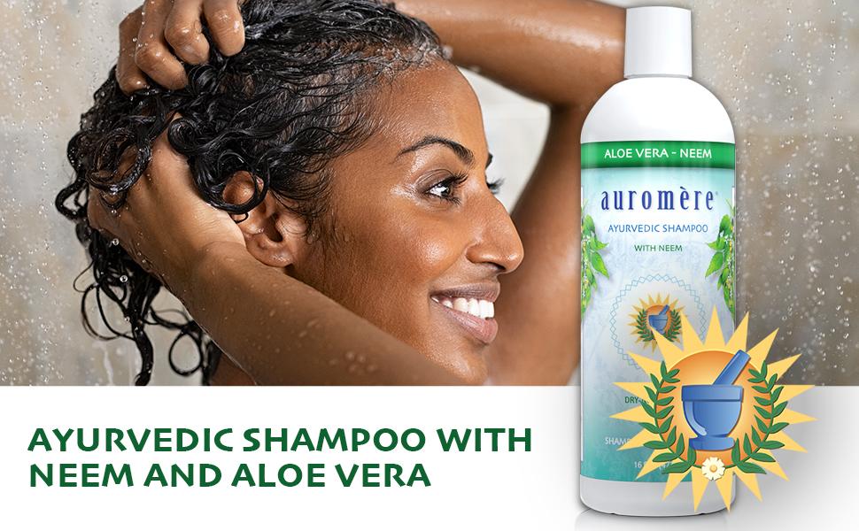 auromere aloe vera shampoo