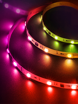 rgbic led strip light