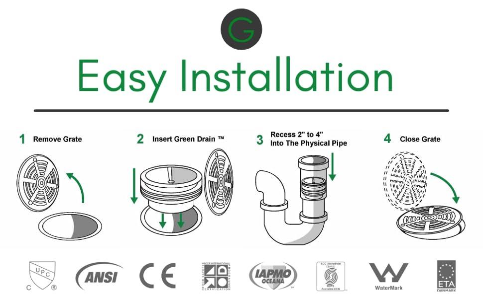 easy drain plug, no plumber needed drain trap, easy install no plumber, simple drain trap,easy drain