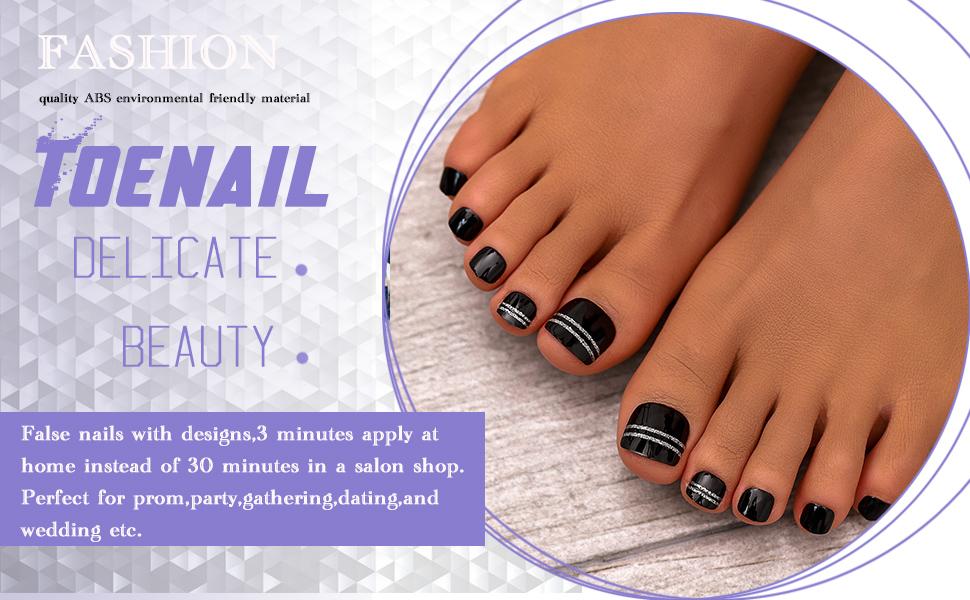 press on toenails