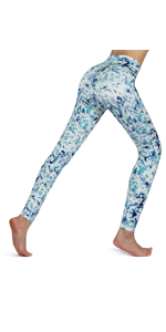 Women yoga leggings with back pocket