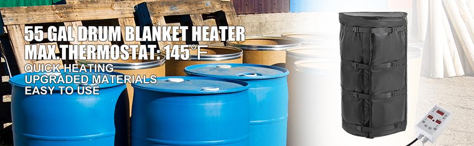 drum heater band
