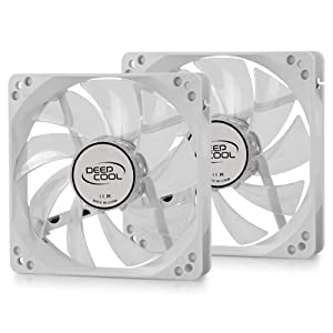 Dual 120mm Fans With PWM Control