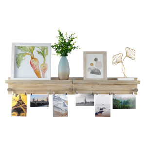 Frame art ledge