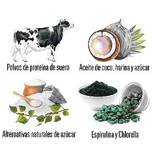 PINK SUN Espirulina Ecológica en Polvo (o 500g) 1 kg Orgánica Alga Pura Vegetariano Vegano sin Gluten No OGM Bio 100% Natural Organic Spirulina Powder ...