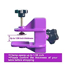 Clamp, Grooming clamp, arm clamp, groomign arm fixing