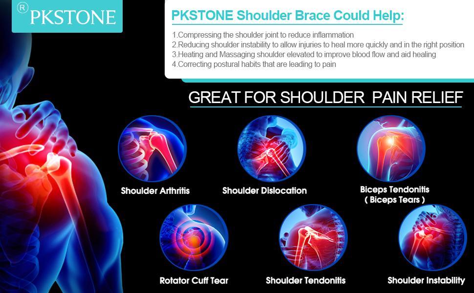 PKSTONE shoulder brace relieve shoulder pain