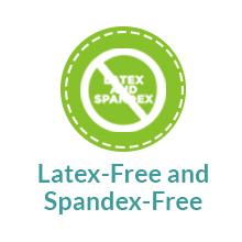 Latex-Free and Spandex-Free