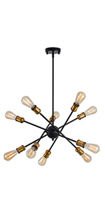 10 light pendant light
