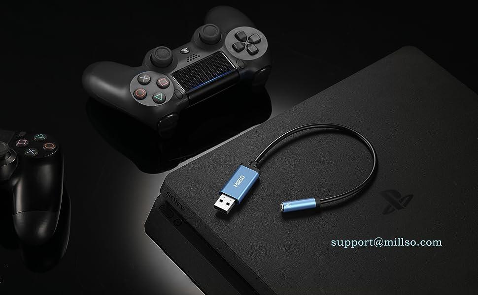 USB 3.5mm変換アダプタ