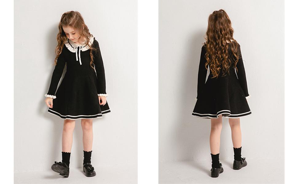 toddler black dress