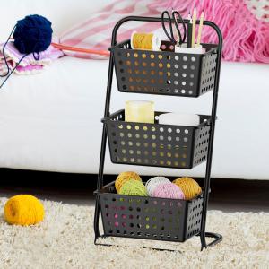 storage basket stand