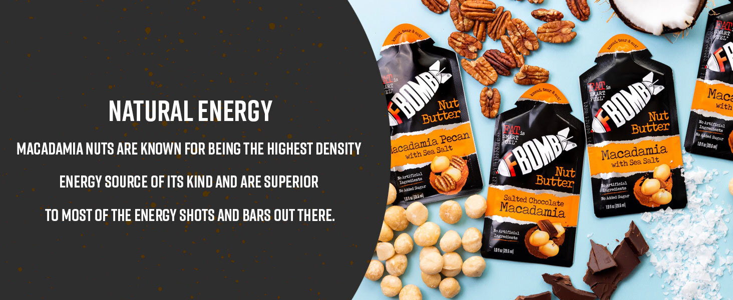 fatbombs macadamia nut butter snacks fat bomb chocolate pnb performance nut butter