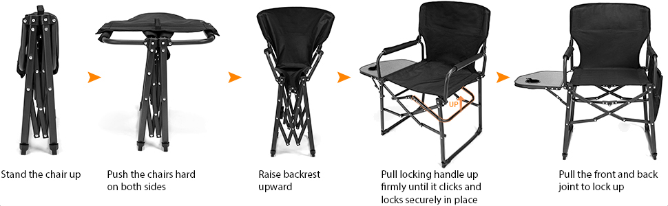 Portable Camping Director Chair