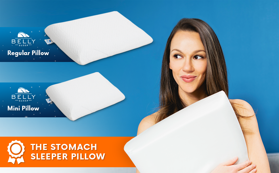 The Stomach Sleeper Pillow